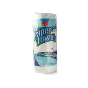 PROMOS PAPER TOWEL, WHITE 2-PLY. 30 / 1-roll.