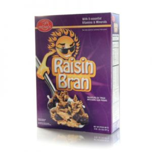 PROMOS RAISIN BRAND CEREAL. 12/8oz.