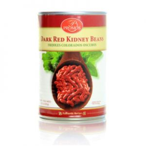 PROMOS, RED KIDNEY BEANS. 24/15.25oz.