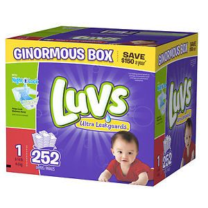 Luvs Diapers Size 1 252ct