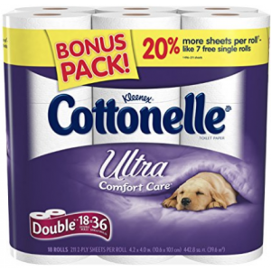 36 Pack - Kleenex Cottonelle Ultra Double Roll