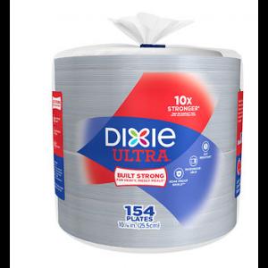 Dixie Ultra Dinner Plate 10 - 154 Pack