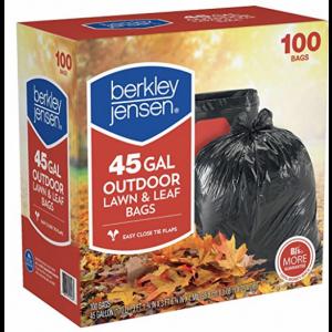 Berkley & Jensen Trash Bags 100 ct 45 Gallon