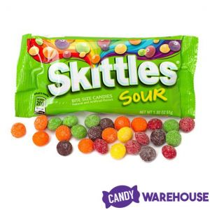 Sour Skittles - 24 Pack