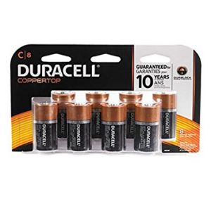 Duracell C Alkaline Batteries - 12 Pack
