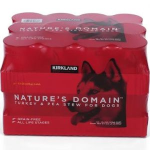 KIRKLAND SIGNATURE NATURE'S DOMAIN TURKEY STEW 24 CT / 13.2 OZ