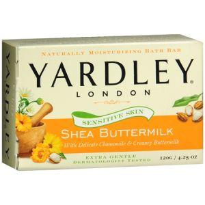 YARDLEY LONDON COCOA BUTTER BATH SOAP  24/4.25 oz