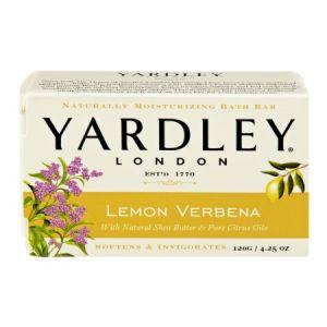 YARDLEY LONDON LEMON VERBENA BATH SOAP  4.25 oz